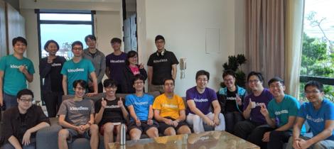 Kloudless Taipei Office Members