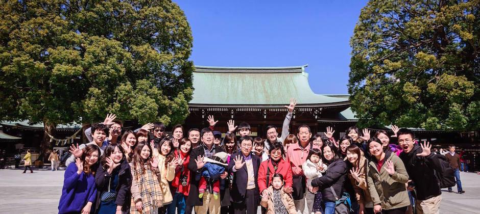 2015 日本員工旅遊合照