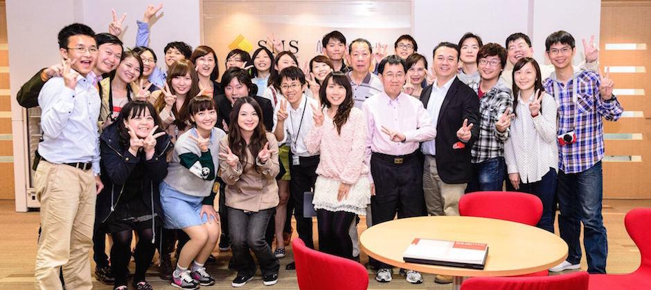 2014年參訪日本SMS總公司