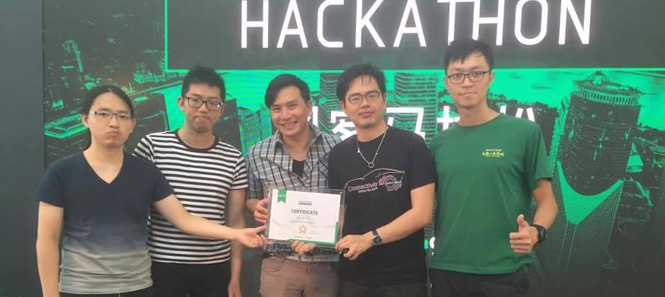 大數軟體參加於上海舉辦的 2016年 TechNode 黑客松大賽獲得第五名的佳績!