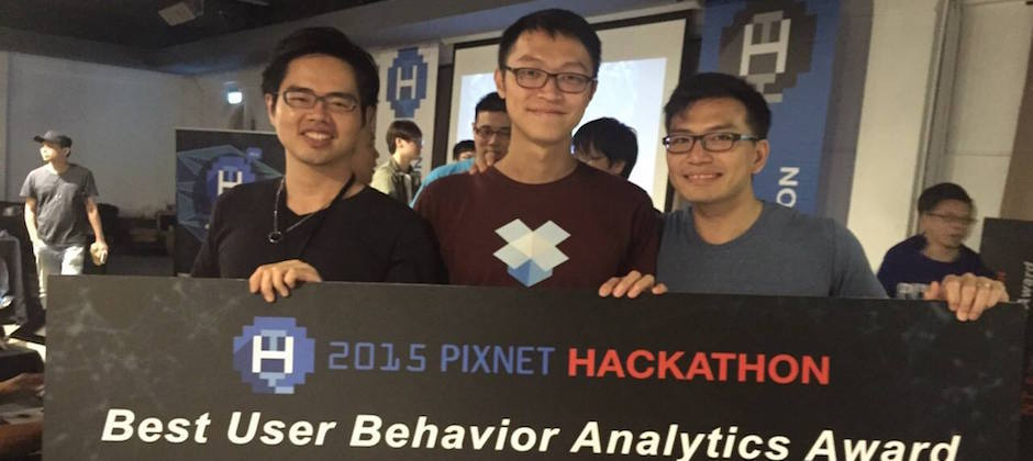 大數軟體在 2015 痞客邦黑客松,於使用者行為交叉分析 (Best User Behavior Analytics) 項目中獲得首獎