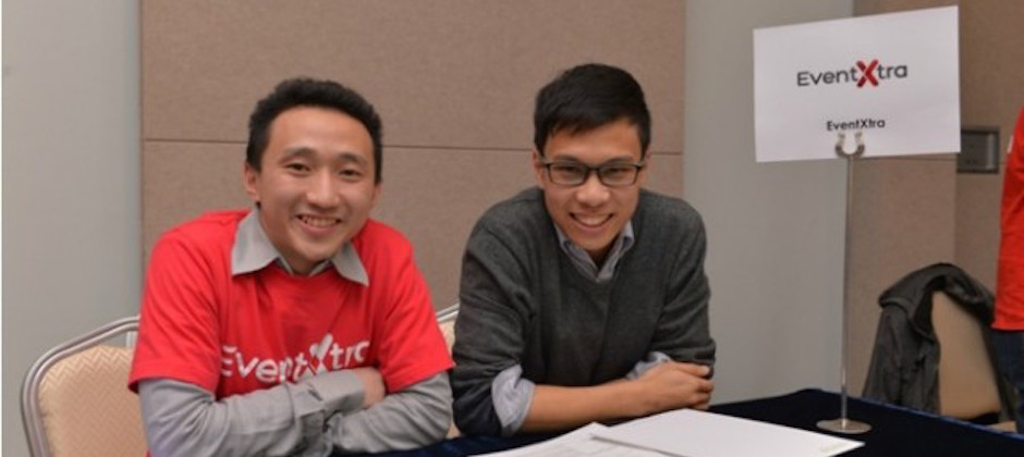 L to R- Sum Wong, Angus Luk, Co-Founders of EventXtra