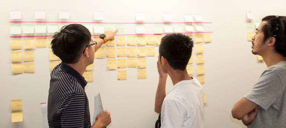 研發團隊表示:便條紙數得完,表示事情做得完