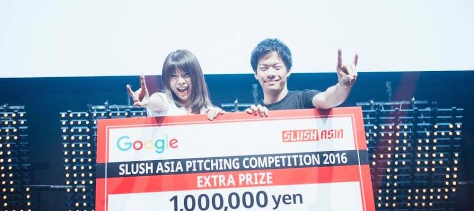 台灣新創之光!日本 Slush Asia 2016,SkyREC 團隊奪冠