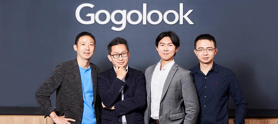 左起為營運長Manwoo Joo、董事長鄭勝丰、執行長郭建甫、技術長宋政桓