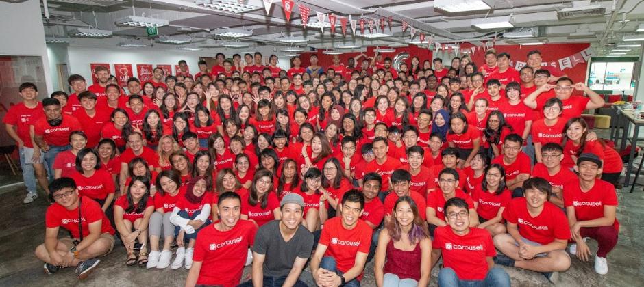 One Carousell - 2018年8月來自各國的夥伴們聚在新加坡總部參與為期一週的活動