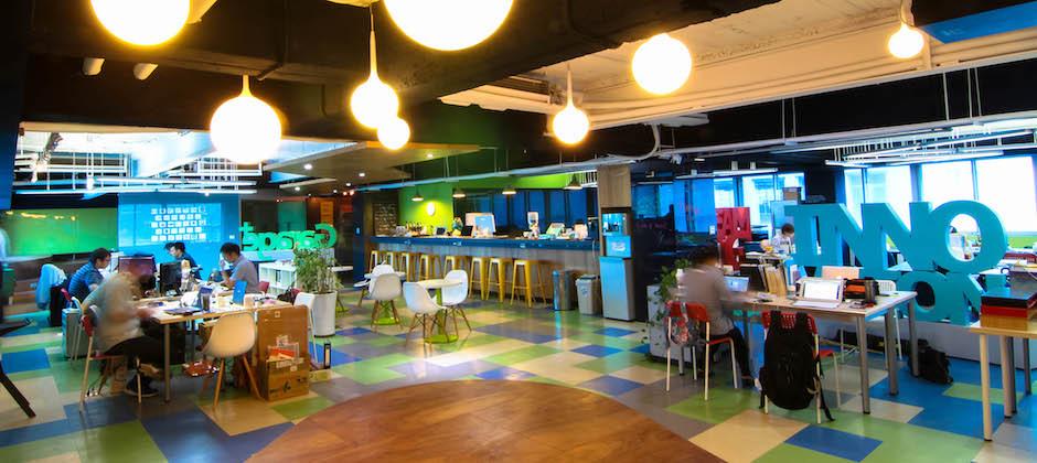 TRAIWAN 位於 Garage+ 育成中心的辦公室