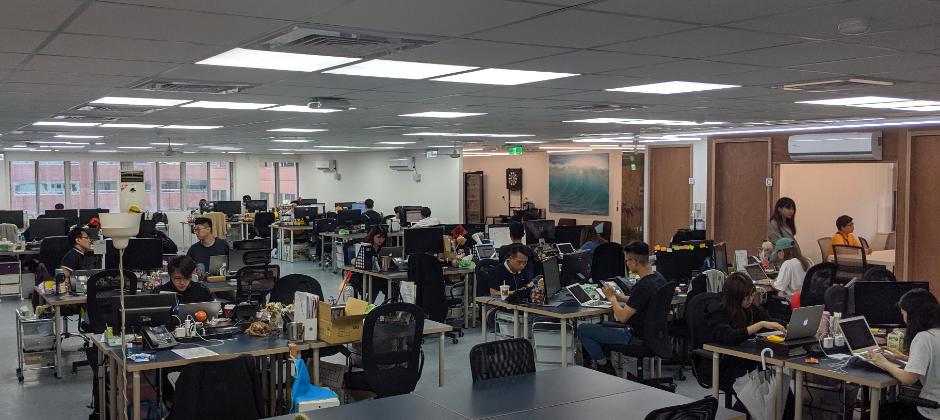 awoo台北新辦公室實景