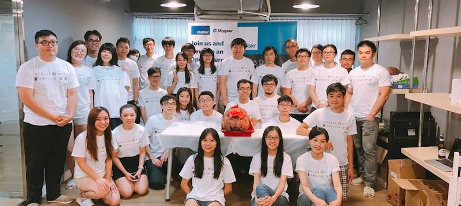 Throwback to the day we received our most-loved t-shirts in HK office!