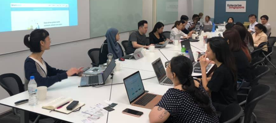 Full house.  Workshop in action @Singapore.
