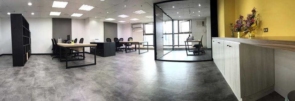 寬敞舒適的辦公環境