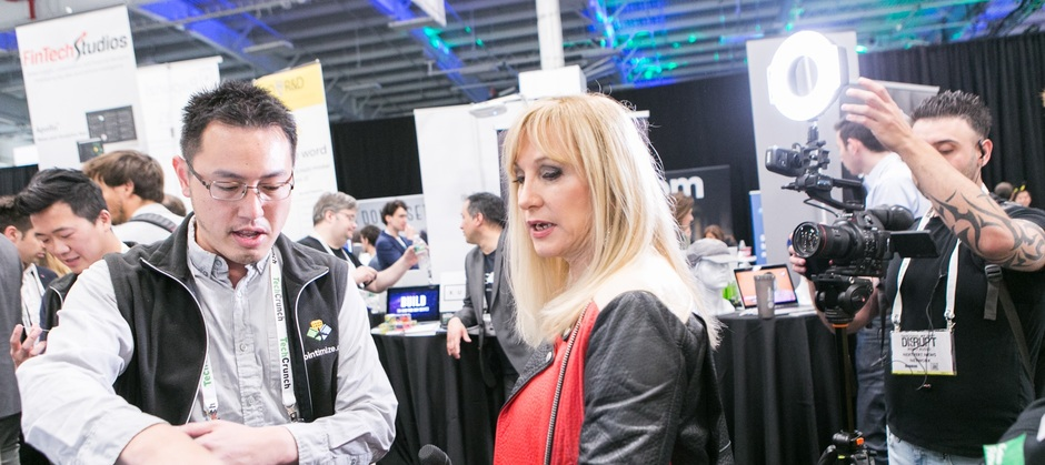 Pointimize media exposure @ TechCrunch NYC 2017