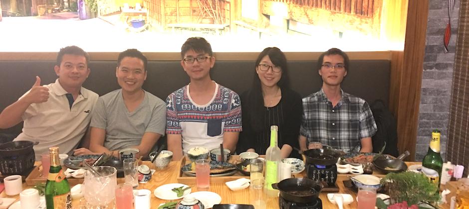 CEO來台灣,團隊聚餐