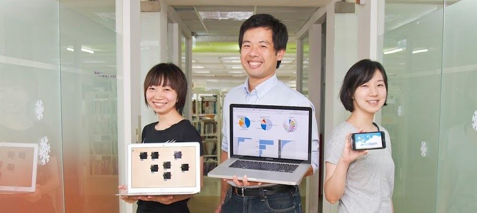 OmniBPM團隊展示產品流程