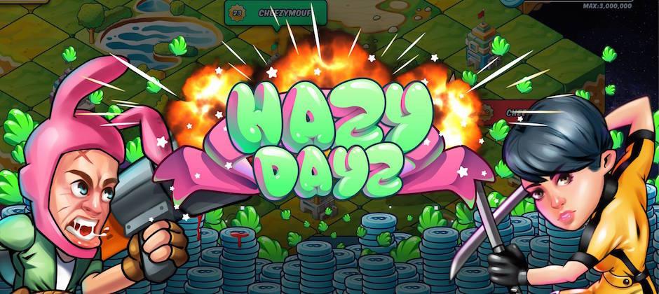 我們 Honey Vision 現在正在製作的手機遊戲 HAZY DAYZ!