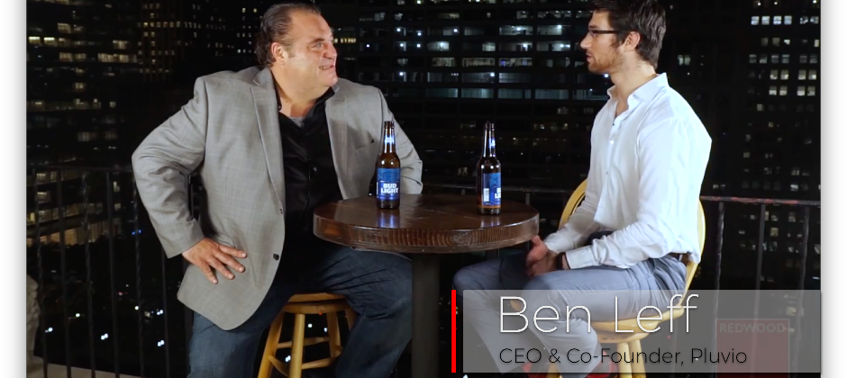 Benjamin Leff, our CEO, being interviewed by Redwood!