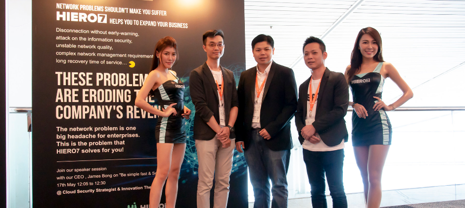 2018 HIERO7 at Cloud Expo Asia HK