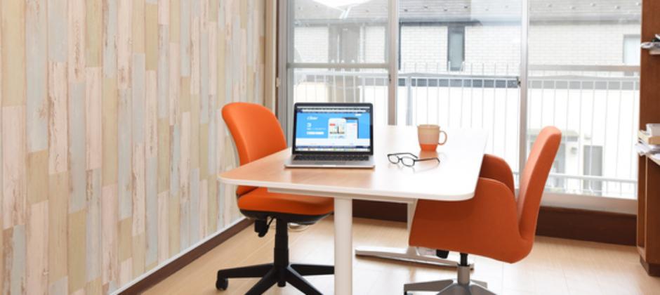 需要一個人集中精神時亦可選擇個人房間安靜工作。