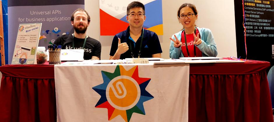 Kloudless Taipei team 參加並贊助 [2018 DevOpsDays Taipei]活動