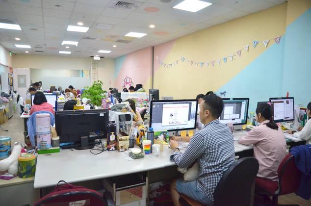 iFit辦公室一隅