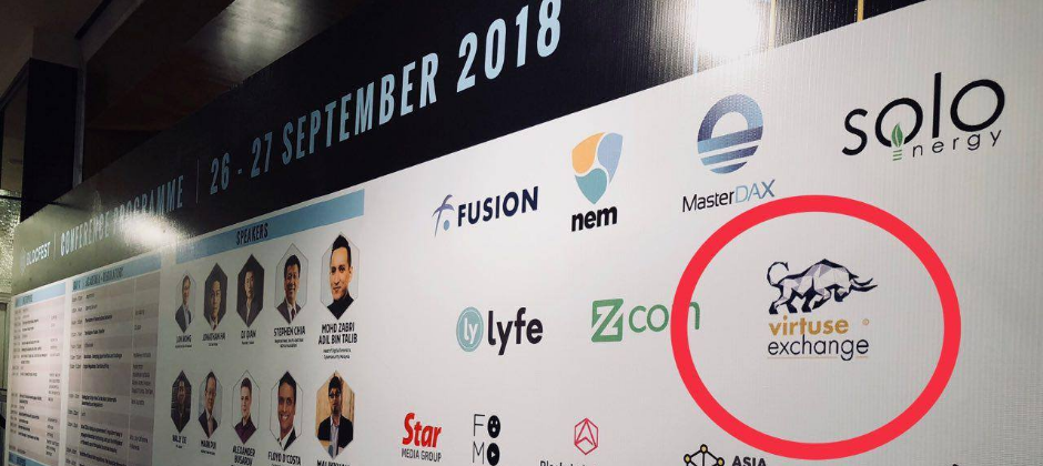 Virtuse Exchange was a proud sponsor and partner of Blocfest Asia 2018