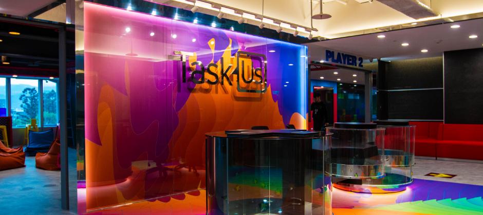 【TaskUs Taiwan- Adventures Intelligence: Reception】