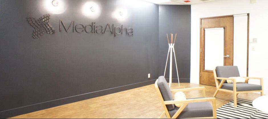 MediaAlpha Office Lounge