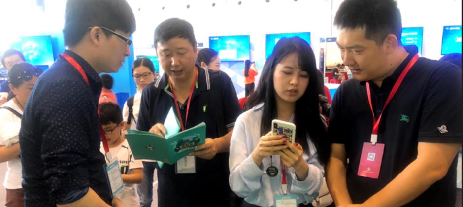 圍棋世界冠軍常昊、圍棋世界冠軍俞斌 於中國圍棋大會蒞臨練功房指導