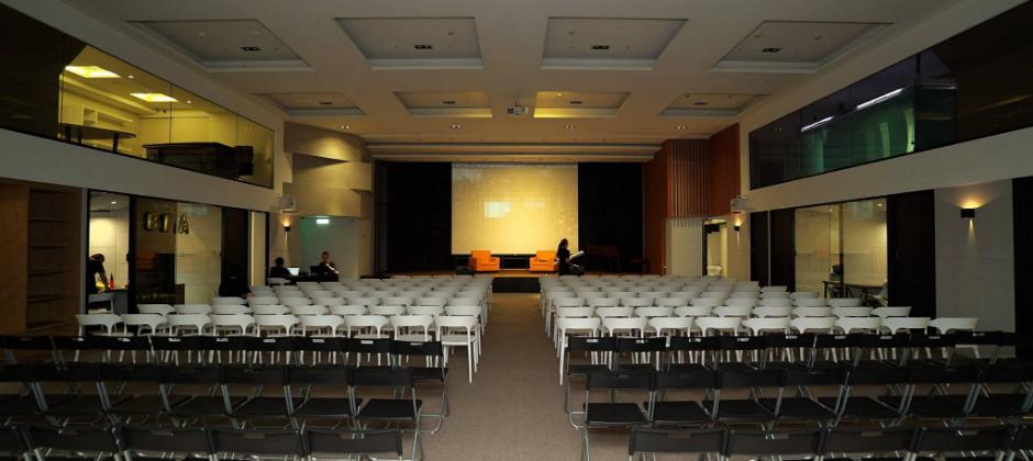 台北唯一六公尺挑高、可容納三百人的劇院型活動場地