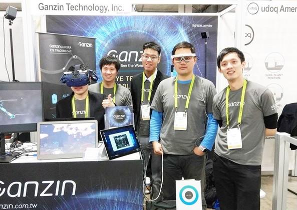 Ganzin @ 2019 CES.