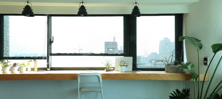 俯瞰台中市一角,工作之餘讓心呼吸的地方