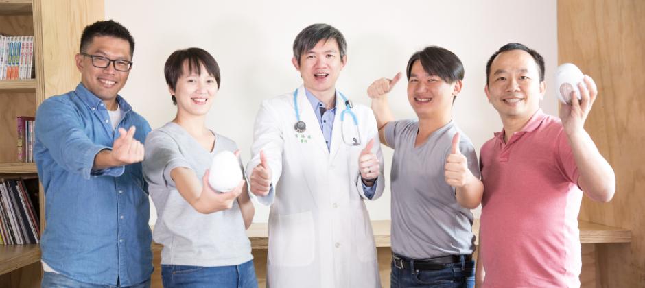 創辦團隊:小兒科醫師、AI專家、國際行銷專家