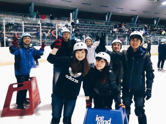 小巨蛋新手溜冰團