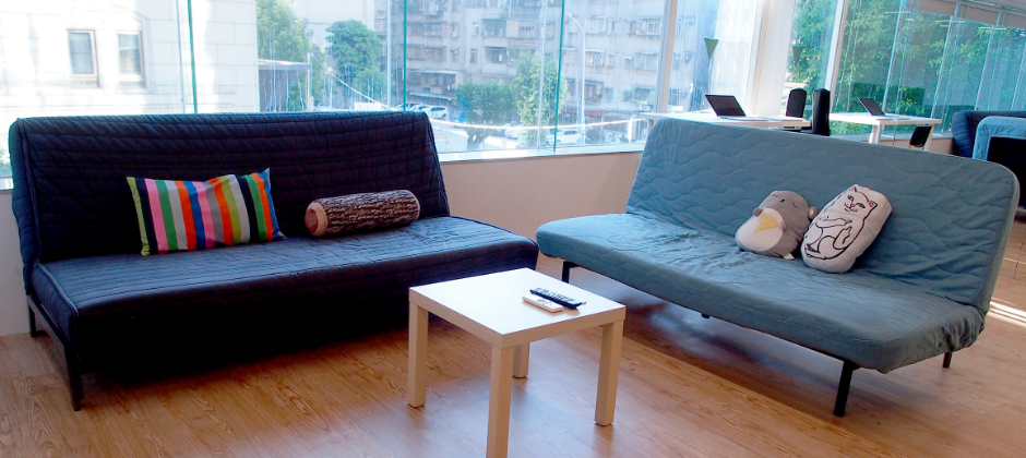 Cozy area in Taipei office