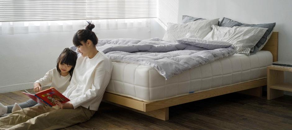 眠豆腐床架為安穩睡眠而設計的家具