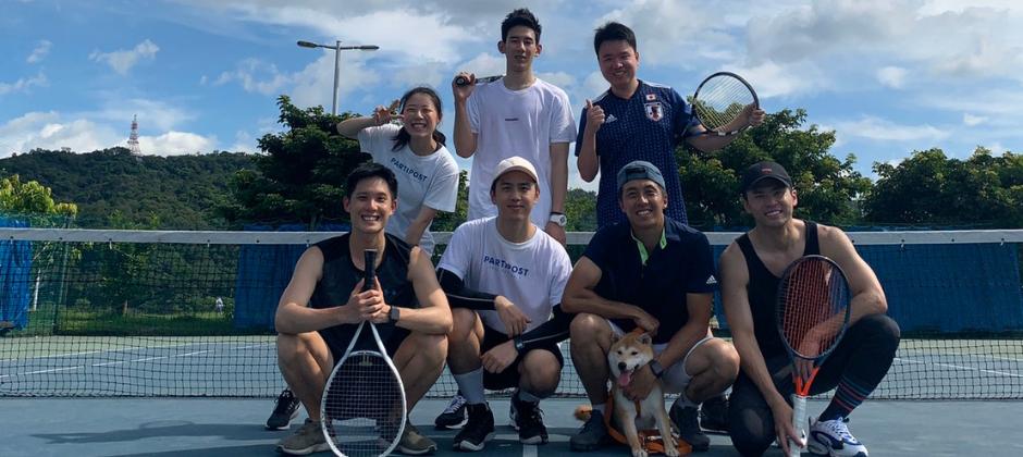Partipost Team Buidling - 網球體驗