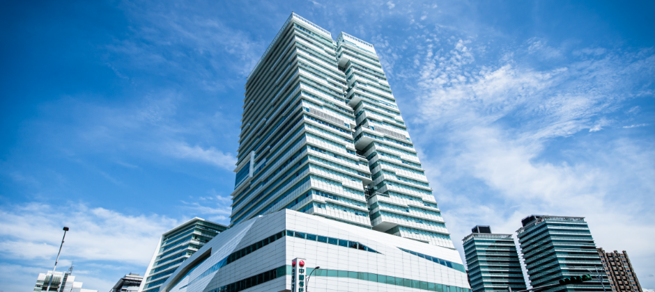 中國信託南港金融園區總部外觀