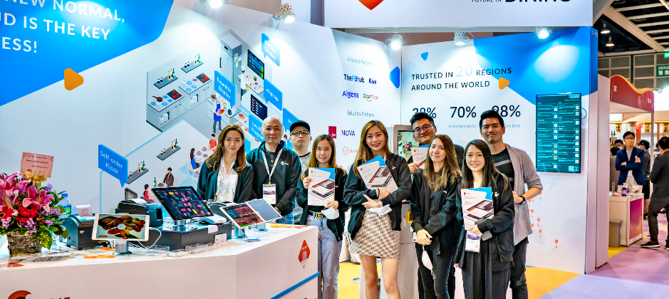 參展,香港銷售團隊