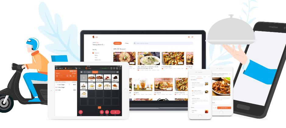 網頁點餐市集,提供餐飲業者專屬自己的點餐網站